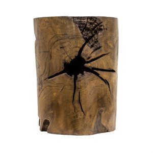 Teak Root Side Table 12 inches