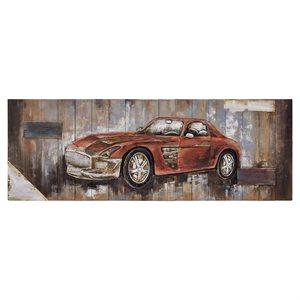 Red Vintage Car II